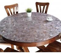 Мягкое стекло на круглый стол Ромашка ПВХ 1,8 мм