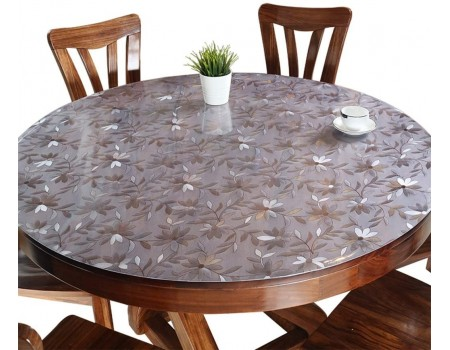 Мягкое рифленое защитное стекло на круглый стол 1,8 мм