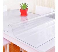 Мягкое стекло ПВХ 1,2 мм ширина 140 см