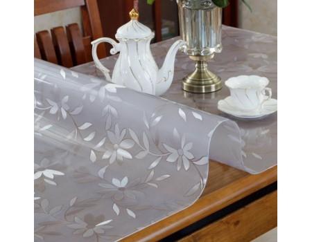 Мягкое рифленое защитное стекло на стол 1,8 мм