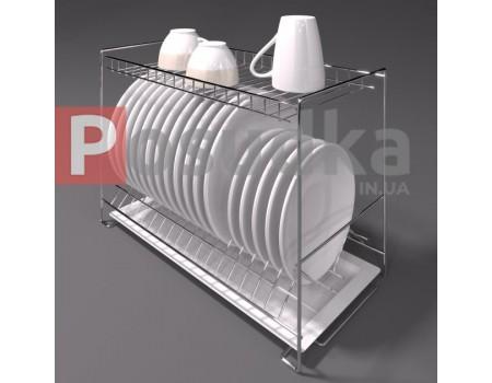 Двухуровневые сушилки для посуды в шкаф 60 см SN-2622