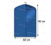 Кофр для одежды с прозрачной вставкой КОФПРОМ 60*90 см синий