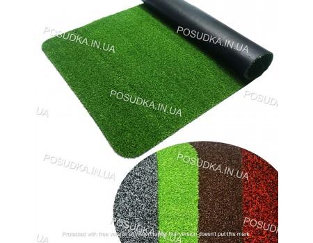 Коврик придверный влаговпитывающий на резиновой основе 60*90 см Grass