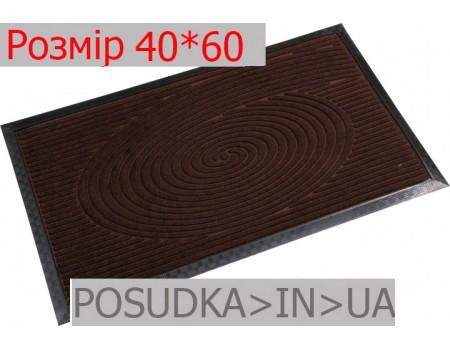 Придверный коврик с рисунком 40*60 см Рамка шоколад