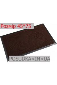 Придверный коврик с рисунком 45*75 см Рамка шоколад