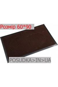 Придверный коврик с рисунком 60*90 см Рамка шоколад