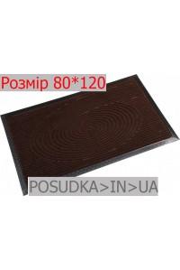 Придверный коврик с рисунком 80*120 см Рамка шоколад
