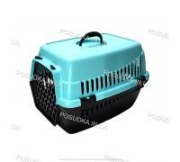 Контейнеры для перевозки кошек и собак, грызунов Senyayla голубой
