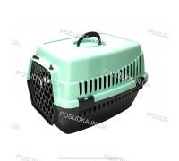 Контейнеры для перевозки кошек и собак, грызунов Senyayla мятная