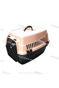 Контейнеры для перевозки кошек и собак, грызунов Senyayla розовый