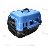 Контейнеры для перевозки кошек и собак, грызунов Senyayla синий