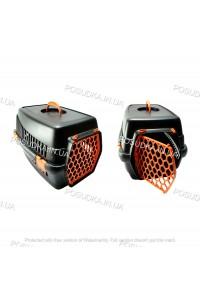 Переноска для котов, собак, мелких животных Senyayla оранжевая
