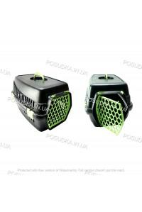 Переноска для котов, собак, мелких животных Senyayla зеленая