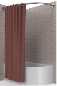 Карниз для угловой асимметричной ванны 70*170 см
