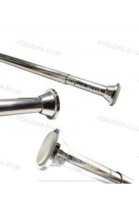 Карниз для ванной комнаты алюминиевый Wela 120-200 см W0280