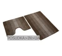 Набор ковриков для ванной Дариана Махрамат БЕЖЕВЫЙ