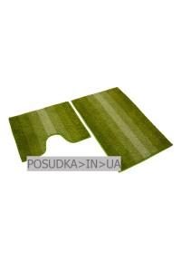 Набор ковриков для ванной Дариана Махрамат СВЕТЛО-ЗЕЛЕНЫЙ