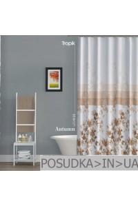 Штора для ванной Tropik Autumn BS4131 Осень тканевая 180*200 см