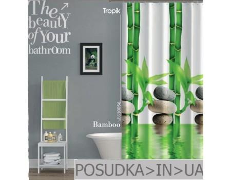 Тканевая шторка в ванную Tropik Bamboo BS10056 Бамбук