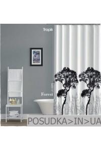 Штора для ванной Tropik Forest BS33911 Лес тканевая 180*200 см