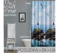 Штора для ванной Tropik LightHouse BS9298 Маяк тканевая 180*200 см
