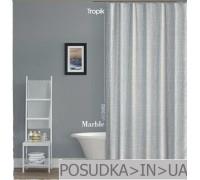 Штора для ванной Tropik Marble BS3182 Паутина белая тканевая 180*200 см